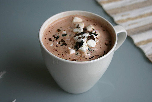 A well deserved hot chocolate